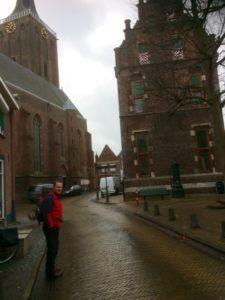 Grote -- of St Stephanuskerk. Stadhuis