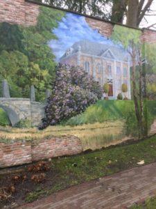 """Muurschildering bij """"De Zwarte Boer"""""""